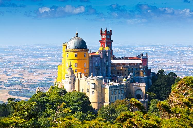 Cosa vedere a Lisbona - Palazzo da Pena (Sintra)