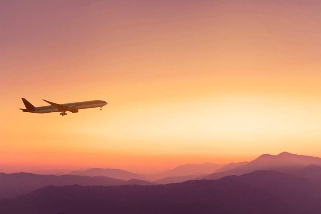volare in aereo