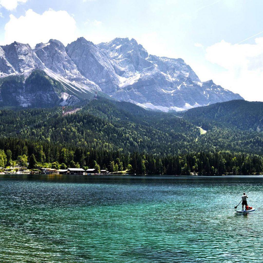 Lago montagna