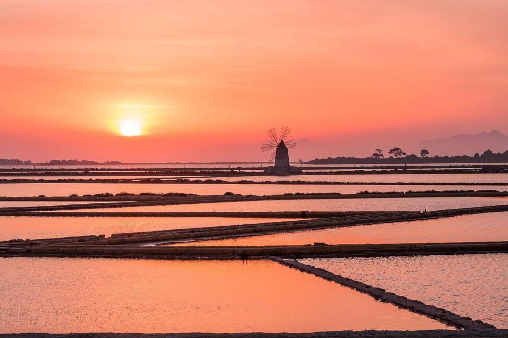 vacanze-settembre-saline-marsala-tramonto