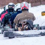 Non solo sci: vivere la neve sui karts su ghiaccio